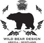 Wild Bear Design House Stylists in Argyll Scotland Logo